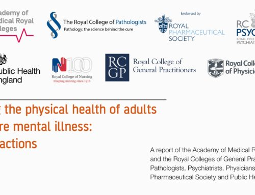 Improving the physical health of adults  with severe mental illness: essential actions