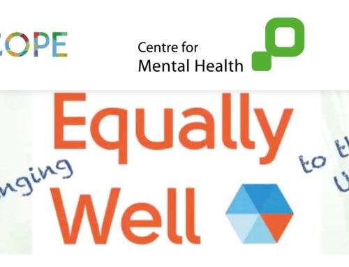 Webinar: The plan for Equally Well UK