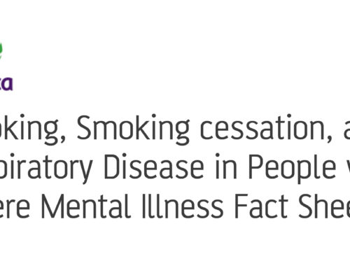 Smoking, smoking cessation, and respiratory disease fact sheet