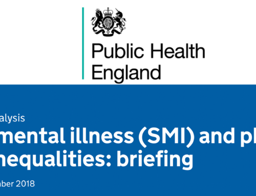 PHE – Severe mental illness (SMI) and physical health inequalities: briefing