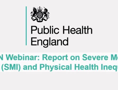 PHE's National Mental Health Intelligence Network (NMHIN) webinar
