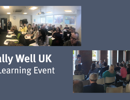 Equally Well UK – learning network event 14 May 2018