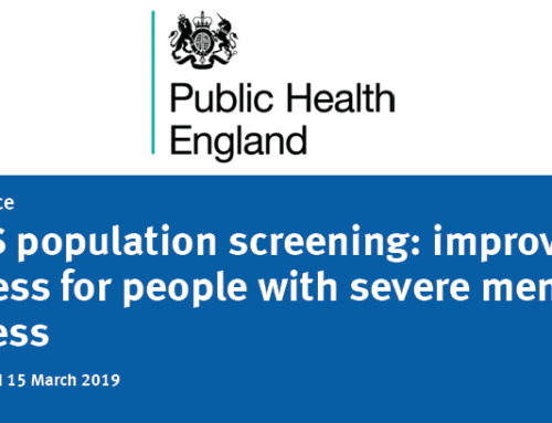 NHS population screening: improving access for people with severe mental illness