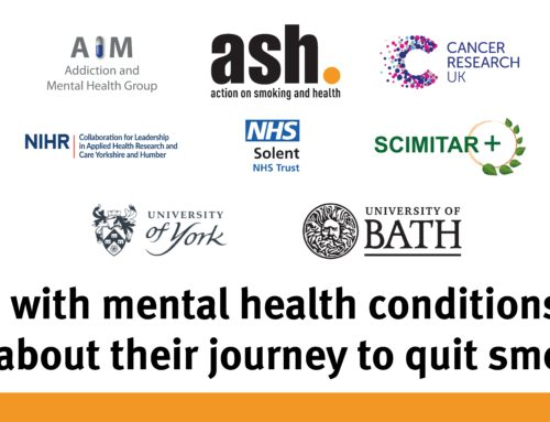 Smokers with mental health conditions