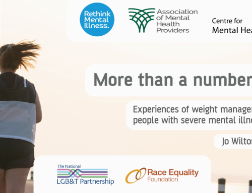 More than a number – Centre for Mental Health, Rethink Mental Illness and the Association of Mental Health Providers