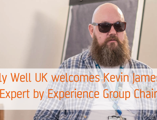 Equally Well UK welcomes Kevin James as the new Expert by Experience Group Chair