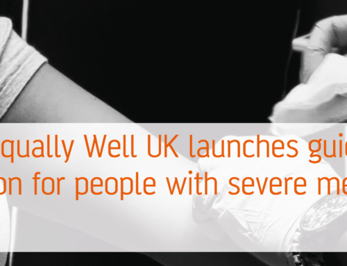 Equally Well UK launches guide to flu immunisation for people with severe mental illness