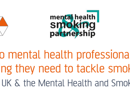 Webinar: Do mental health professionals have the training they need to tackle smoking?
