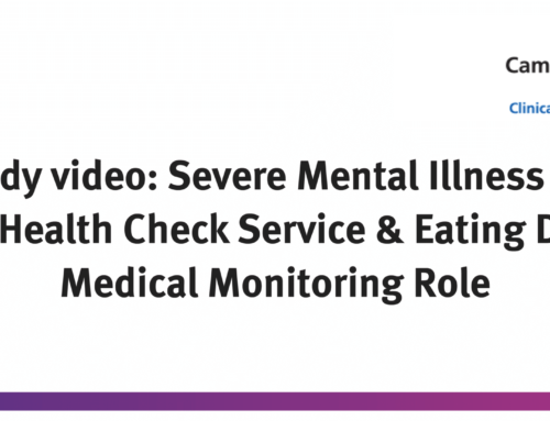 SMI Patients Annual Health Check Service & Eating Disorder Medical Monitoring Role