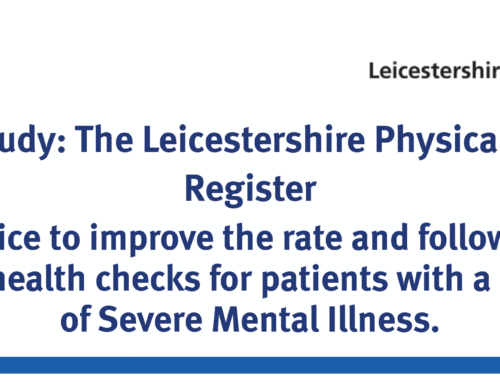 The Leicestershire Physical Health Register – Case study