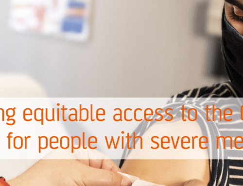 Promoting equitable access to the Covid-19 vaccination for people with severe mental illness