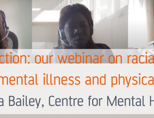 Time for action: our webinar on racial injustice, severe mental illness and physical health